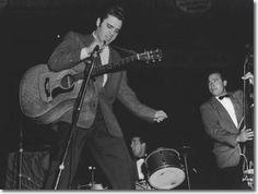 Elvis Presley at the Cleveland Arena, Ohio - November 23, 1956