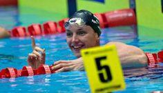 La Hongroise Katinka Hosszu, sacrée sur 200 m 4 nages aux Championnats d'Europe en petit bassin, le 12 décembre 2013 à Herning  - La Hongroise Katinka Hosszu, sacrée sur 200 m 4 nages aux Championnats d'Europe en petit bassin, le 12 décembre 2013 à Herning  - SCANPIX DENMARK/AFP Claus Fisker