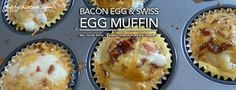 Keto egg muffins solve the breakfast dilemma—especially when you need easy and on-the-run meals for stressful weekday mornings. Fluffy Chix Cook exceptionally low carb and diabetic friendly Bacon S...