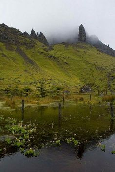 Old Man of Storr, Isle of Skye, Hebrides Islands, Scotland.