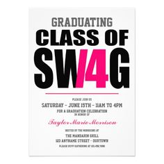 ==>>Big Save on          	Class of Swag 2014 Graduation Announcements           	Class of Swag 2014 Graduation Announcements lowest price for you. In addition you can compare price with another store and read helpful reviews. BuyDiscount Deals          	Class of Swag 2014 Graduation Announceme...Cleck Hot Deals >>> http://www.zazzle.com/class_of_swag_2014_graduation_announcements-161022448057035777?rf=238627982471231924&zbar=1&tc=terrest