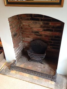 Brick Fireplace Restoration - Part VII