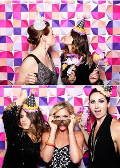 Make a Bachelorette Party Photo Booth!