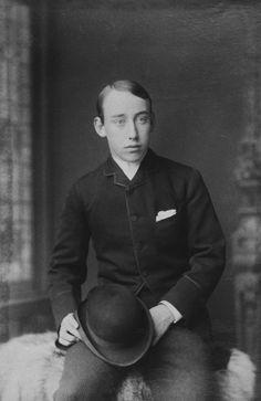 Christian Viktor as a young man