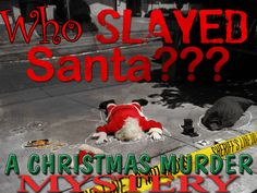 New Game - coming this November! Who Slayed Santa - A Christmas Murder Mystery Party Game