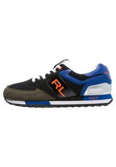 Polo Sport Ralph Lauren SLATON Sneaker low black/rescue orange für Herren -