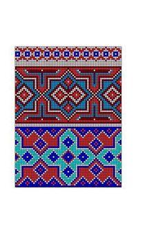 "Photo from album ""Скандинавские узоры"" on Yandex. Tapestry Crochet Patterns, Loom Patterns, Beading Patterns, Knitting Patterns, Inkle Weaving, Bead Weaving, Crochet Chart, Crochet Motif, Cross Stitch Designs"