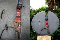 Beautiful garden sculpture