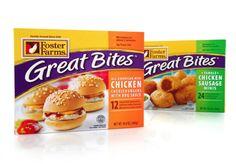 Frozen Snack Food Design, Appetizer Package Design