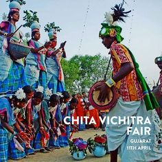 The CHITA VICHITRA FAIR is a celebration of the arts & customs of the tribes of Gujarat. The highlights of this unique fair is the traditional costume donned by patrons visiting the fair. Women are dressed in ghagras ( a long full skirt often decorated with embroidery ) complemented with heavy jewellery!  Photo by: @india_traditions_culture  . . . . . #summer #summertime #festivals #gujarat #tuesdaymorning #tuesdaytrivia #tuesdaythoughts #LoveToTravel  #pintrip #traveldiaries #ttot…
