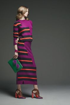 Lindsey Wixson in Fendi Pre-Fall 2015. See the entire collection: http://www.vogue.com/slideshow/5712519/fendi-pre-fall-2015-runway/?mbid=social_pinterest