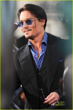 Johnny Depp Public Enemies Premiere