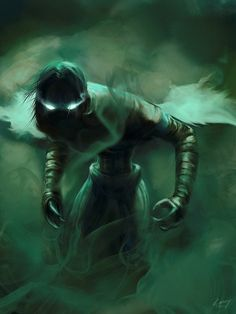 Spectral Raziel from the Legacy of Kain series. Image by Alex Dulac.