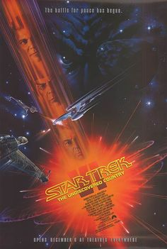 Star Trek Vl: The Undiscovered Country (1991) 6th in the series of the Star Trek films