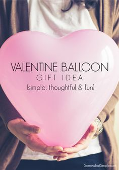 Easy Valentines Gift. Valentines idea that is simple and fun!