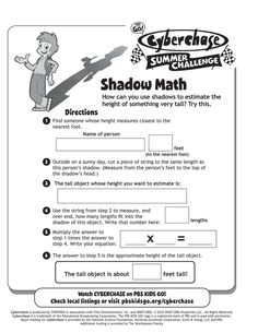 Shadow Math (measurement)