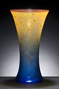 Cooling Tower: Curt Brock: Art Glass Vase - Artful Home