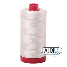 Silver White Thread A2309 Quilting Thread, Hand Quilting, Machine Quilting, Light Spring, Spring Green, Collar And Cuff, Cotton Thread, Collars, Cuffs