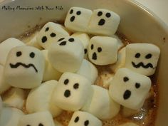 Hot Chocolate - Halloween Style - Making Memories With Your Kids