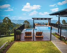 Beau Corp Aquatics & Construction transformed this outdoor space. http://www.queenslandhomes.com.au/idyllic-outdoor-entertaining-area/