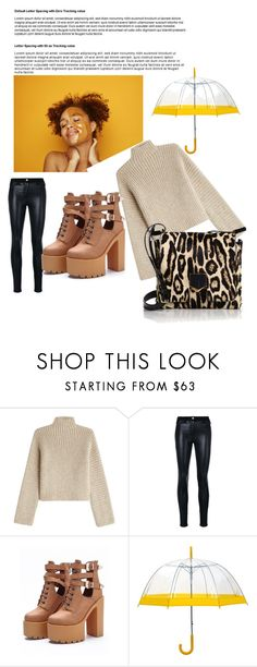 """Untitled#6"" by almaco12 ❤ liked on Polyvore featuring Rosetta Getty, Versace, WithChic and Jimmy Choo"