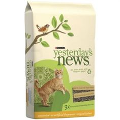 Purina 10303 Yesterday's News Original Cat Litter Unscented 5 lb