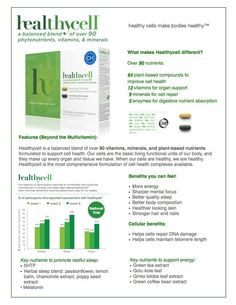 The Beauty Pirate: HealthyCell- phytonutrient, vitamin and mineral blend plus DISCOUNT coupon