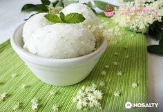 Mentás bodza sorbet Sorbet, Elderflower, Ice Cream, Sugar, Food, Mint, No Churn Ice Cream, Gelato, Meals