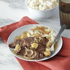 105 Slow-Cooker Favorites | Beef Brisket with Beer | CookingLight.com