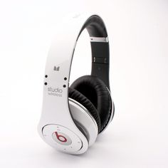 Monster Bests By Dr Dre Official White Studio Headphones
