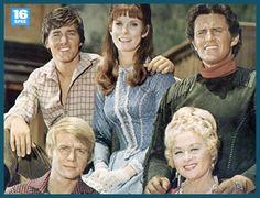 Bobby Sherman, Bridget Hanley, Robert Brown, David Soul and Joan Blondell - Here Come The Brides