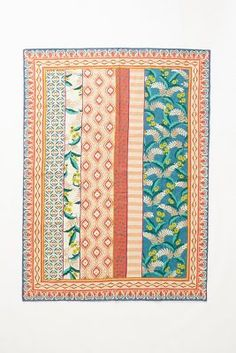 hand-embroidered Mali rug from anthropologie Aztec Pattern Wallpaper, Anthropologie Rug, 4x6 Rugs, Online Shops, Textiles, Home Rugs, Furniture Sale, Decoration, Print Patterns
