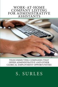 Work-at-Home Company Listing for Administrative Assistants