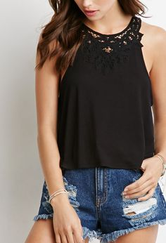 Top à Crochet - Tops - 2002247892 - Forever 21 EU