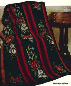 Heritage Afghan Pattern