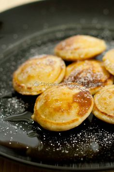 Dutch Pancakes (Poffertjes) @FoodBlogs
