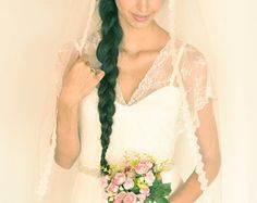 This beautiful boho wedding dress with lace top and chiffon skirt,  ONLY 299$   - Edit Listing - Etsy Boho Wedding Dress, Lace Wedding, Wedding Dresses, Chiffon Skirt, French Lace, Lace Dress, Romantic, Top, Beautiful