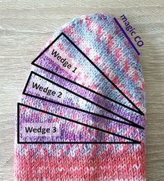 Knitting and so on: Tipsy Toe Socks