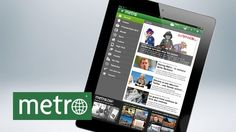 Metro lance son application iPad
