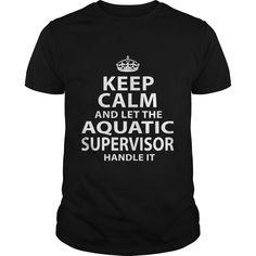 AQUATIC SUPERVISOR T-Shirts, Hoodies. VIEW DETAIL ==► https://www.sunfrog.com/LifeStyle/AQUATIC-SUPERVISOR-118189348-Black-Guys.html?id=41382