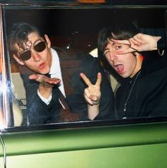 Love alex turner and miles Kane - the last shadow puppets