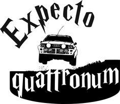 Expecto quattronum , expecto patronum