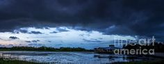 Green Cay Storm 6 photograph by Nancy L. Marshall - Green Cay Storm 6 Fine Art Prints and Posters for Sale #FineArtAmerica An approaching evening storm. Green Cay Wetlands, Boynton Beach, Florida.