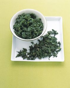 Follow this basic recipe for preparing kale as a side dish or as an addition to pasta dishes or bean salads. The kale leaves are stripped from their tough stems, cut or torn into half-inch strips, and boiled for 20 minutes in salted water until tender.