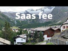 Saas fee-skiing resort village-beautiful village in Switzerland-pearl of the Alps-Saas fee summer - YouTube Saas Fee, Summer Youtube, Alps, Switzerland, Skiing, Pearl, Mountains, Nature, Travel