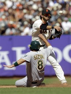 San Francisco Giants Shortstop Brandon Crawford