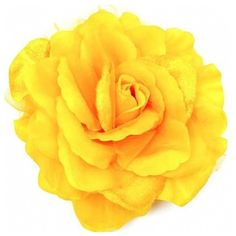 Neomi's Oversized Yellow Flower Brooch ($23) ❤ liked on Polyvore