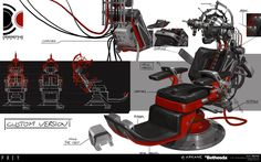 ArtStation - PREY - Debriefing chair, Fred Augis - https://www.artstation.com/artwork/EQwlA
