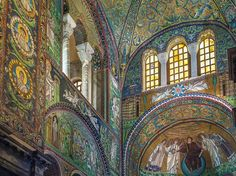 Any trip to Italy is a little bit of a history lesson, but anyone looking to go way back in time should head to the Basilica of San Vitale in Ravenna. A classic example of Byzantine art and architecture, the  mosaic-filled church was built beginning in 526.