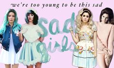 melanie martinez halsey marina and the diamonds lana del rey sad girls we're too young to be this sad cry baby bad lands born to die ultraviolence electra heart froot squad honeymoon#Melaniemartinez #Melanie #Martinez #crybaby #crybabyalbum #dollhouse #sippycup #carousel #alphabetboy #soap #trainigwheels #pityparty #tagyoureit #milkandcookies #pacifyher #mrspotatohead #madhatter #playdate #cake #teddybear #deadtome #bittersweettragedy #crybabies #thevoice #music #alternative